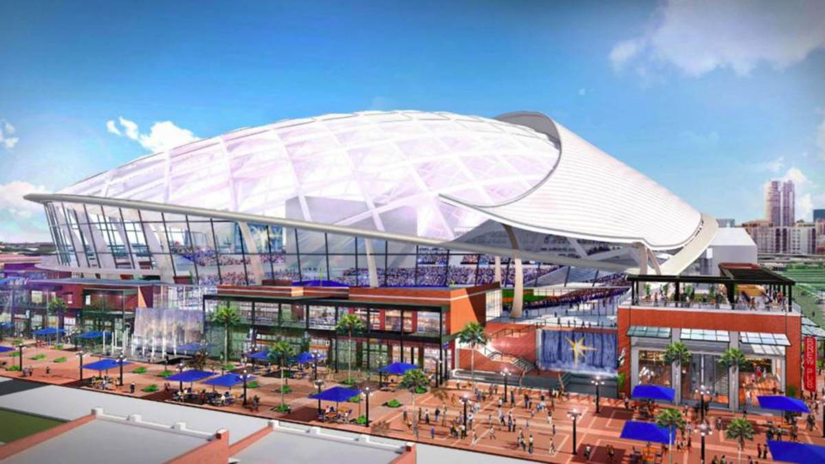 Rays' Proposed New Ballpark