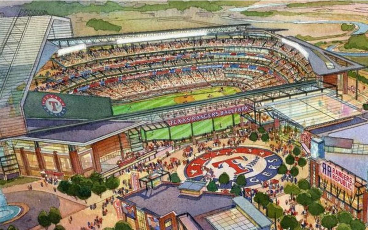 The Rangers New Ballpark Opening in 2020
