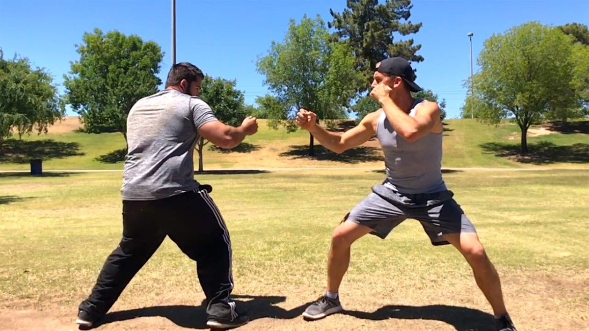 Even street fighting can have positions where to start from.  If your opponent  assumes your move set, they often mentally prep themselves for that.  You can manipulate this by playing outside the box.