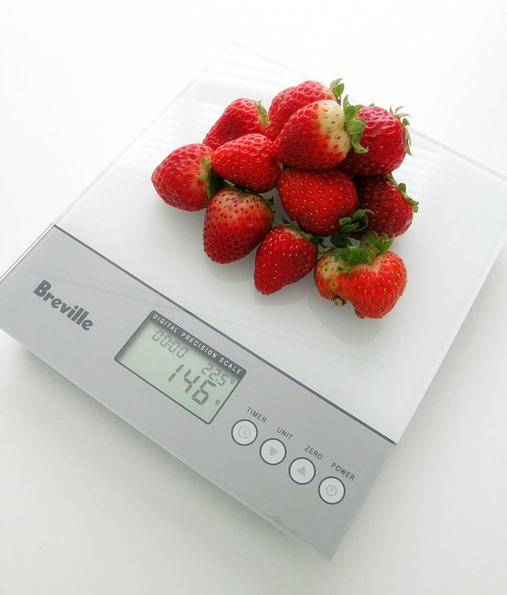 Trust the math. Weigh, measure and log your intake during your cut.