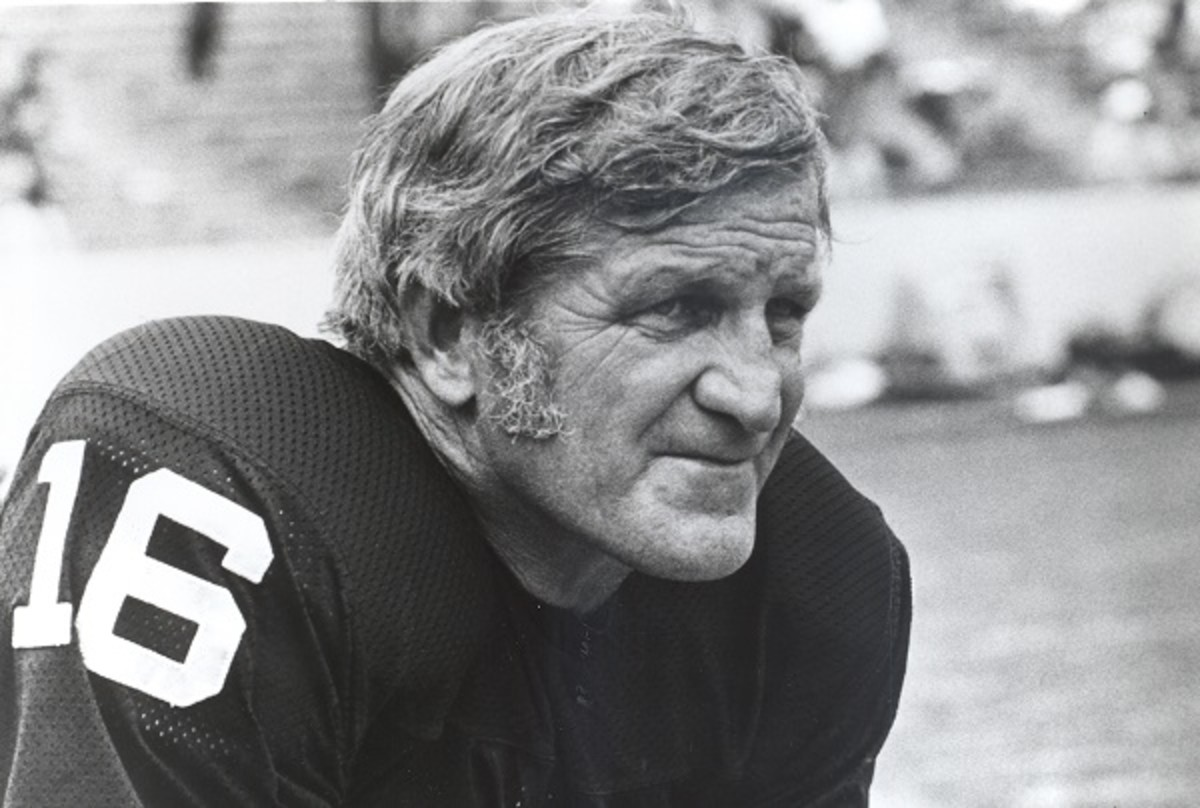 George Blanda -This is a Hall of Fame face!