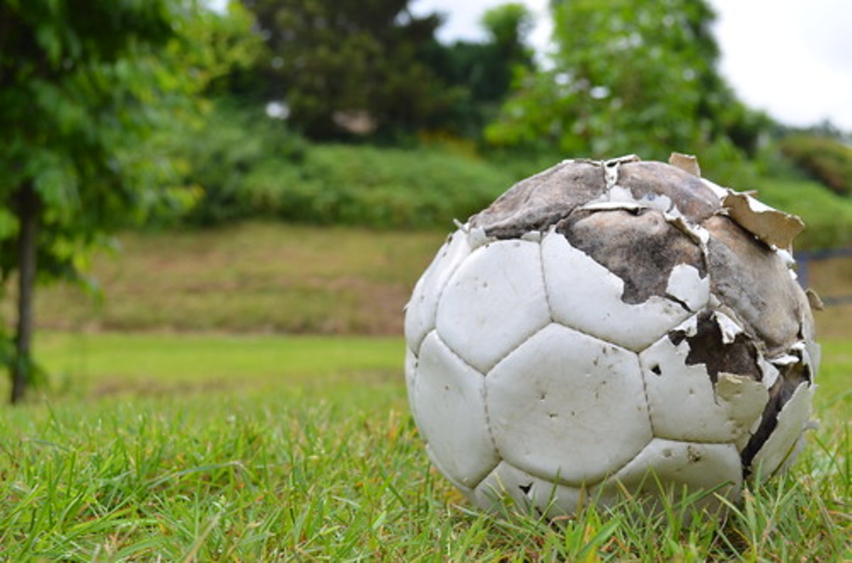 A burst soccer ball was said to mark the end of the curse on Derby County.