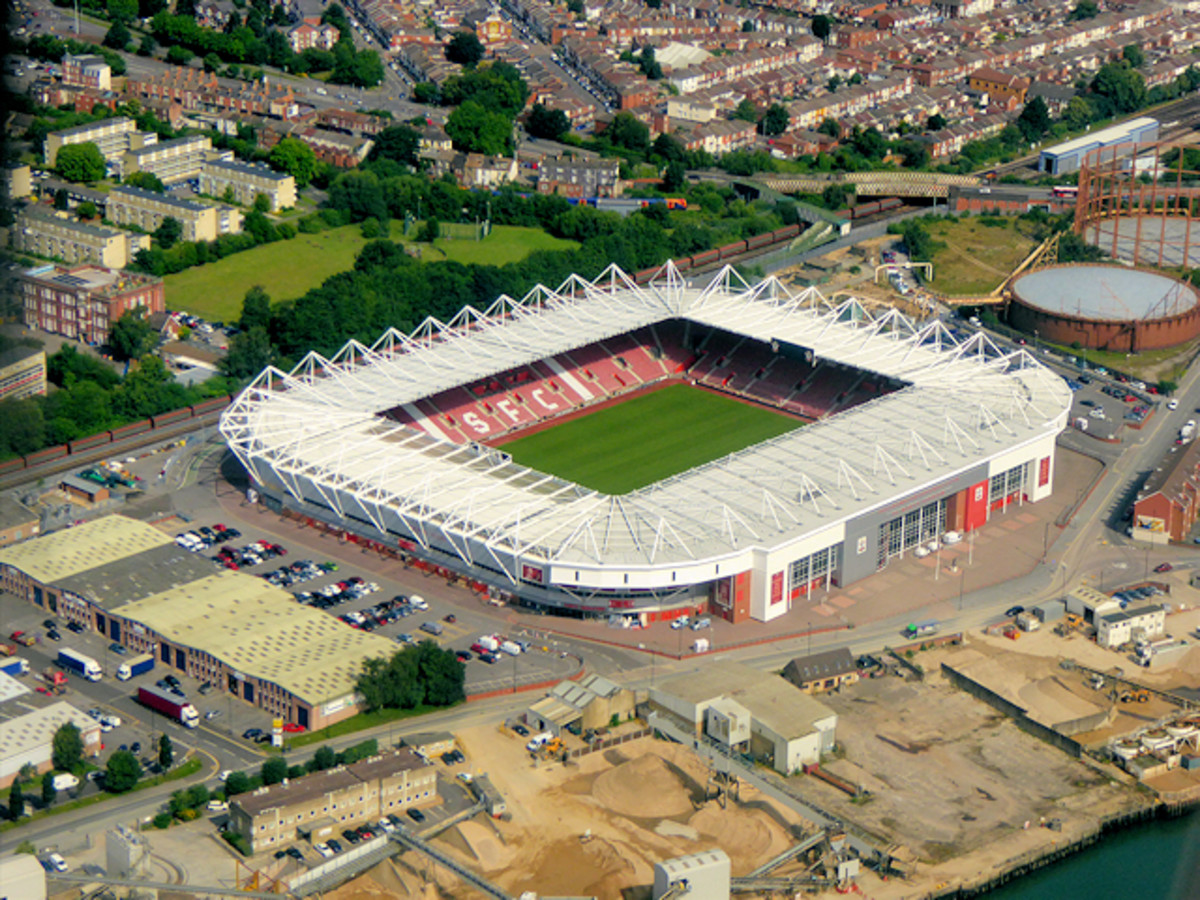 Southampton's hex-free stadium.