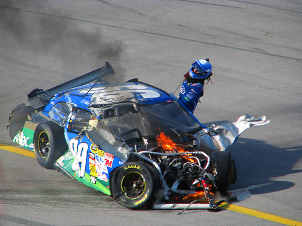 Another Talladega oops.