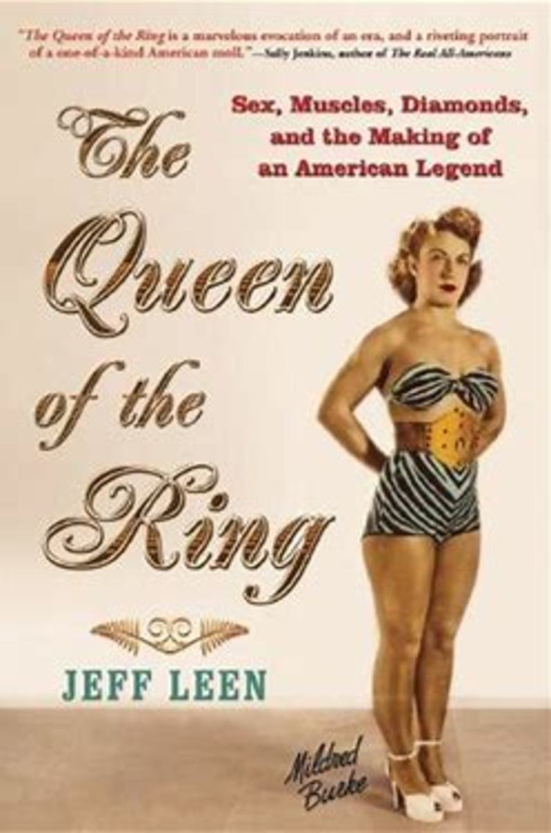 Poster for The Queen of the Ring Book