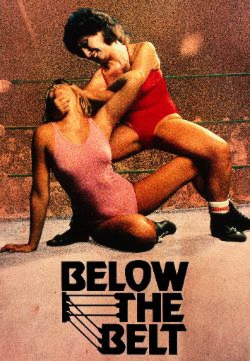 Movie poster for Below the Belt