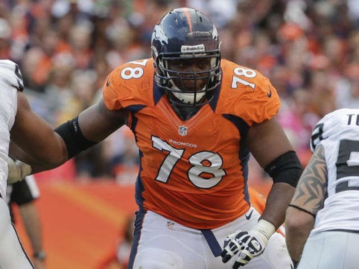 Ryan Clady was named to four Pro Bowls in his eight years with the Denver Broncos.