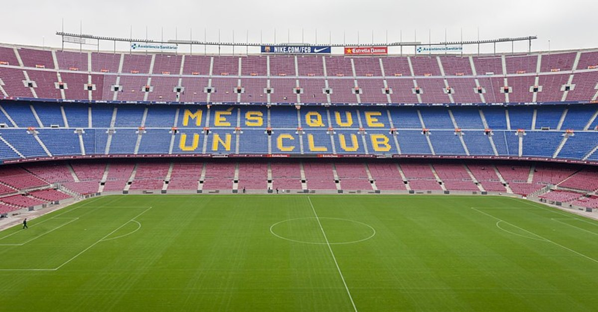 The iconic Camp Nou- venue of Birmingham's European Final defeat in 1961.