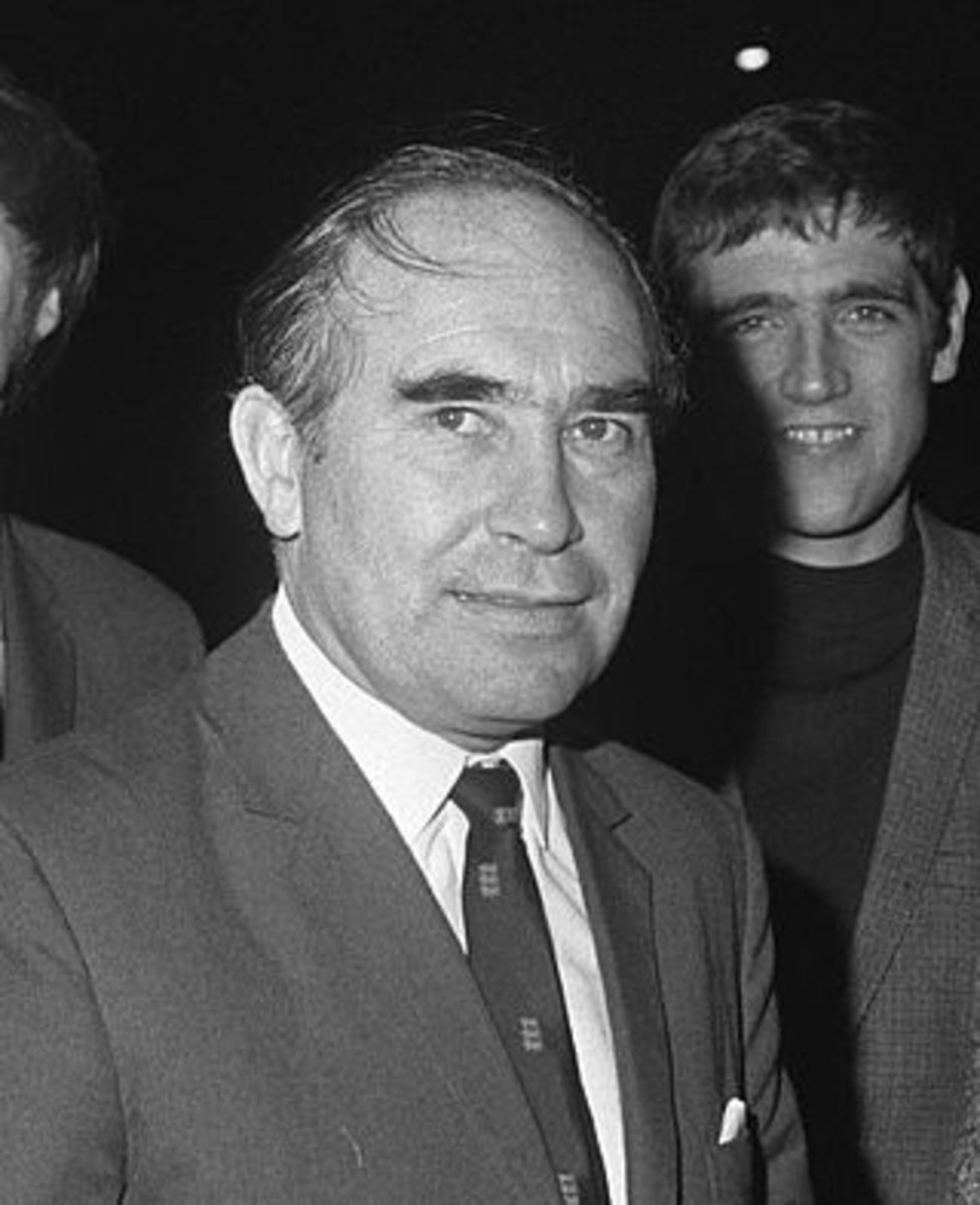 A picture of Sir Alf Ramsey from 1969.