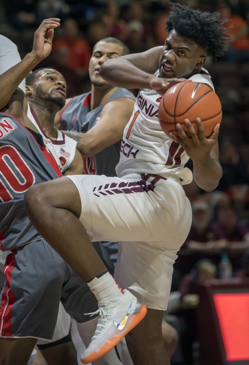 Virginia Tech's Isaiah Wilkins could make his picture easier to find than the Virginia's Isaiah Wilkins as a sophomore.