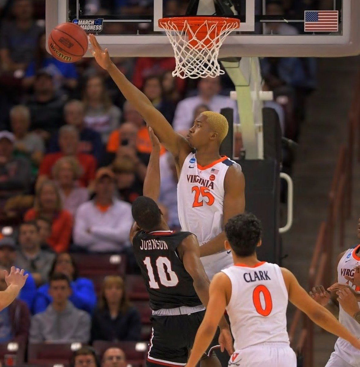 Mamadi Diakite will be a contender for defensive player of the year.