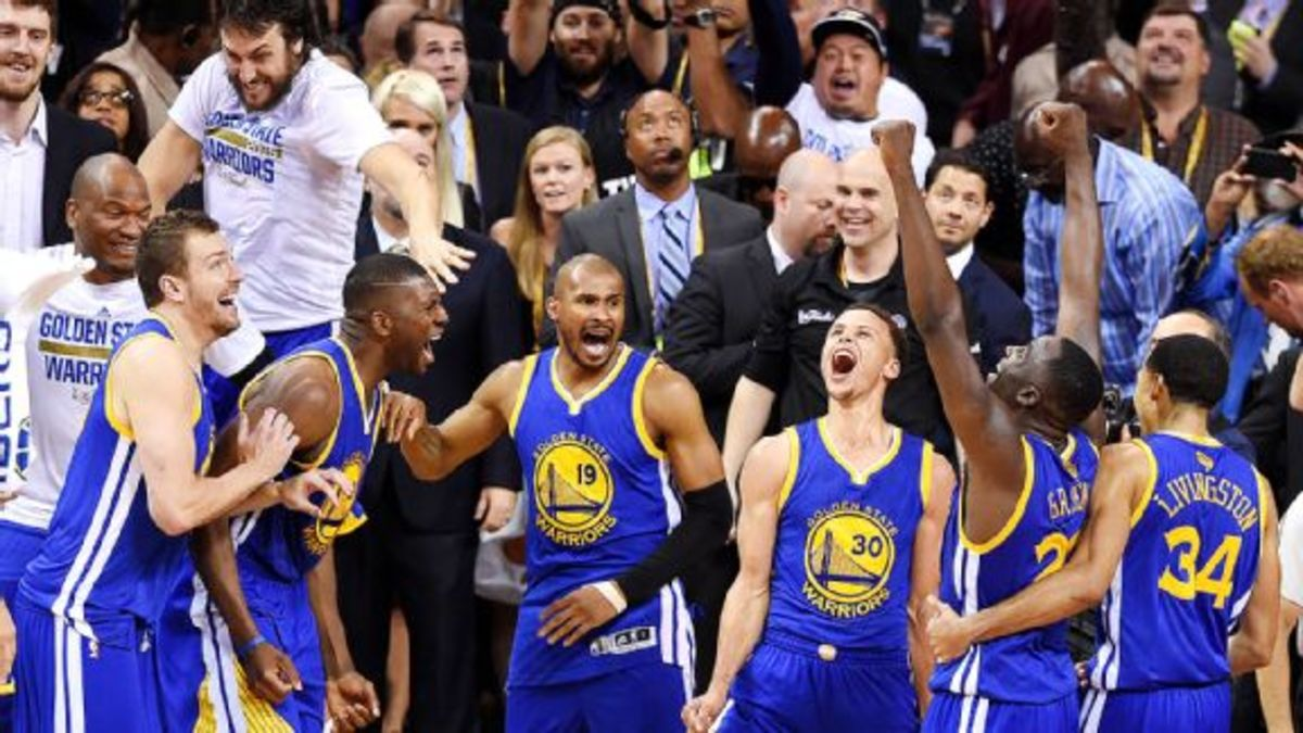 The 2015 Warriors were the luckiest champions in NBA history.
