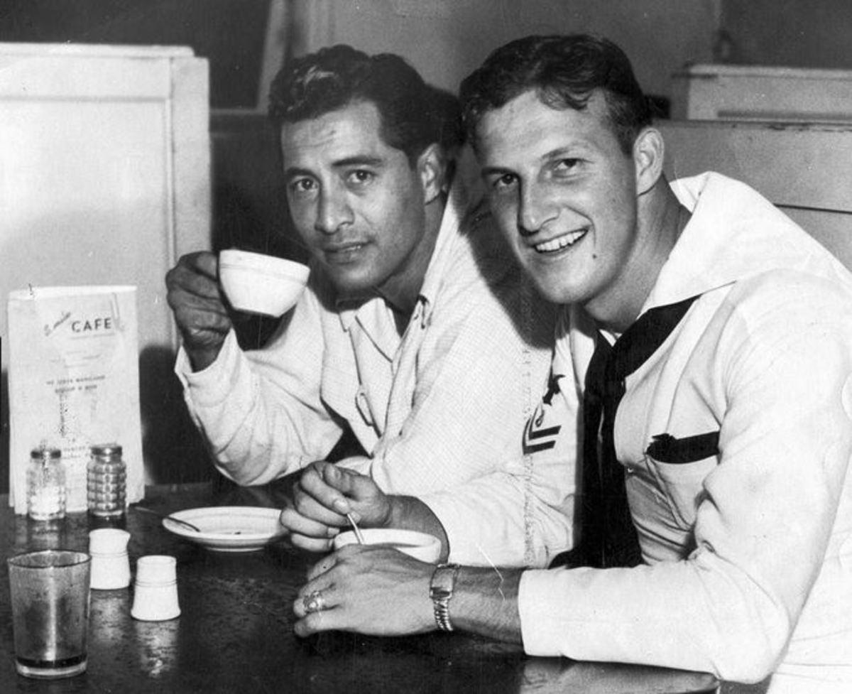 Stan Musial in the Navy