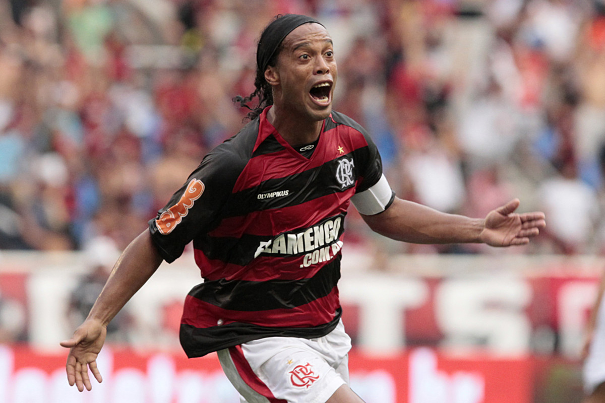 Ronaldinho Gaúcho is known for being an entertaining and skilled player.