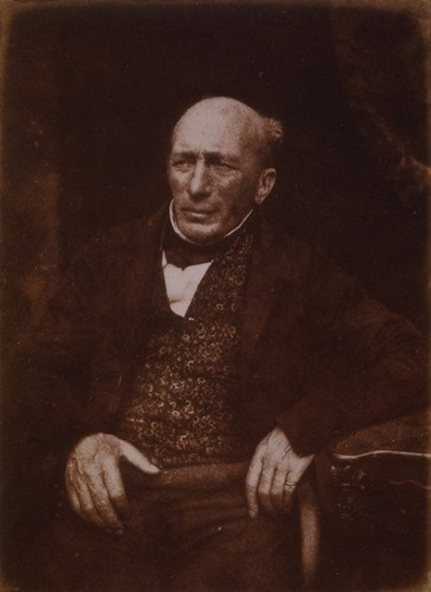 The redoubtable Captain Barclay in later life.