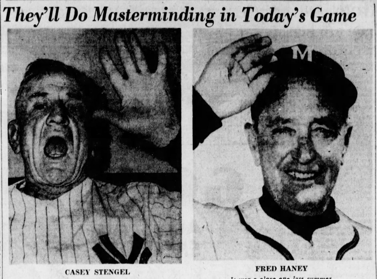 Managers of the 1959 All-Star Game