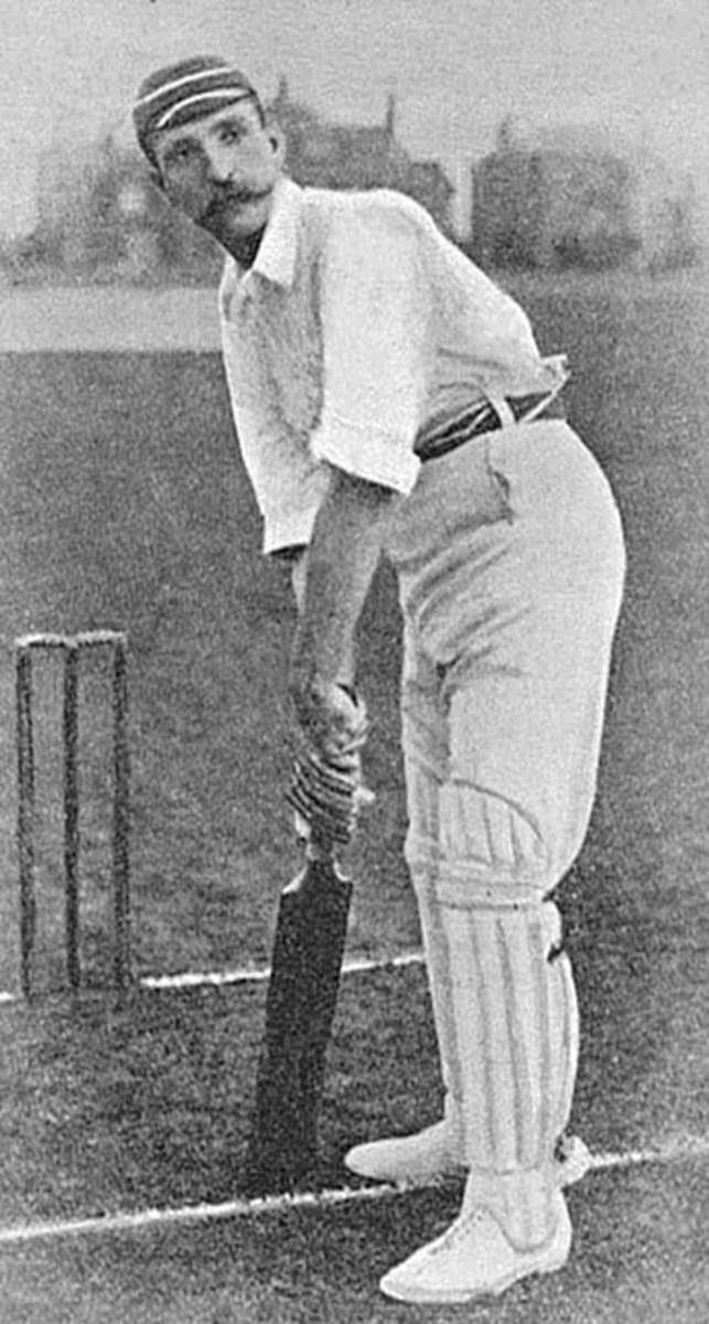 Albert Ward, a native of Yorkshire was one of England's finest 19th century batsmen.
