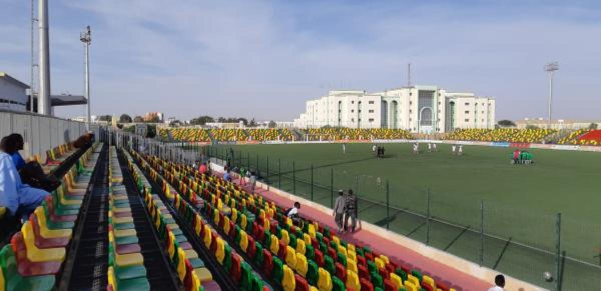 Also located in Nouakchott is the smaller Stade Cheikha Ould Boïdiya. This stadium would witness Mauritania's historic 2-1 victory against Botswana on Nov. 18, 2018.