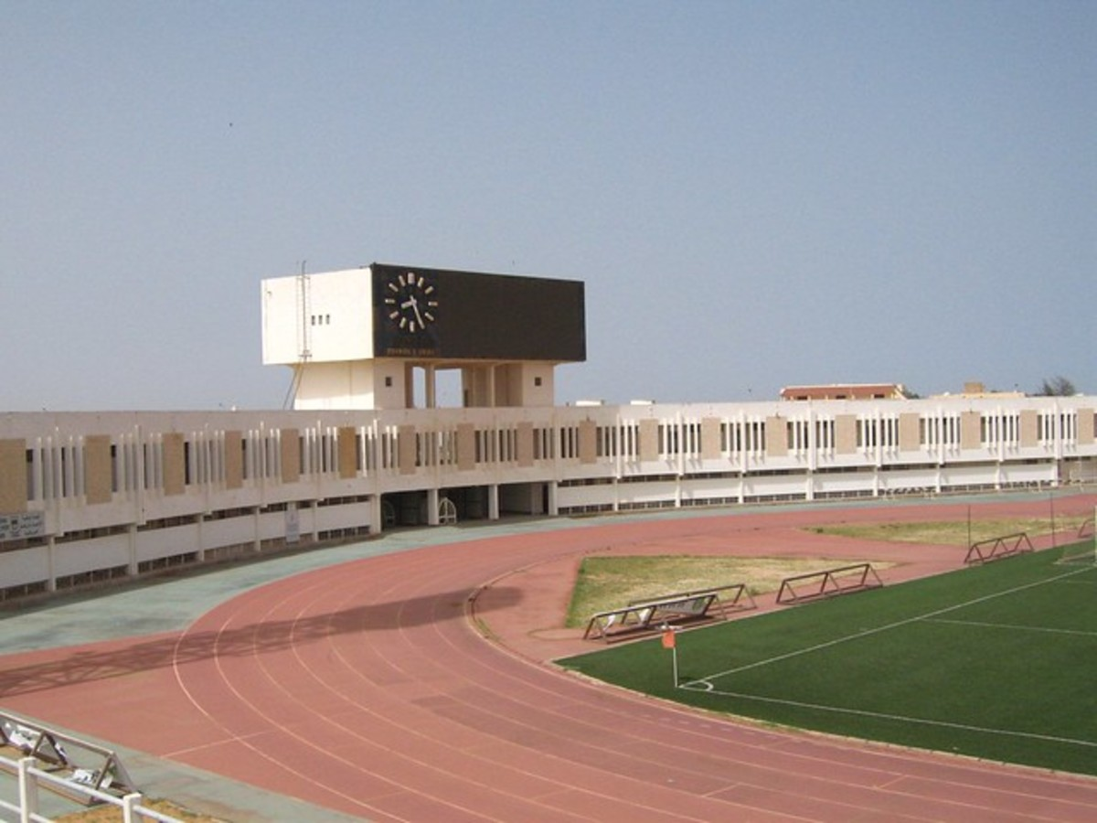 Stade Olympique in Nouakchott is the primary home venue for Mauritania's football national team. This stadium witnessed Mauritania's 3-1 upset victory against South Africa on Sept. 5, 2015.