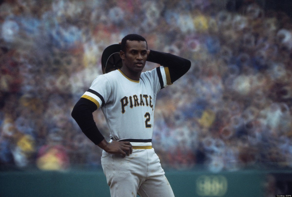 Roberto Clemente During the 1971 World Series