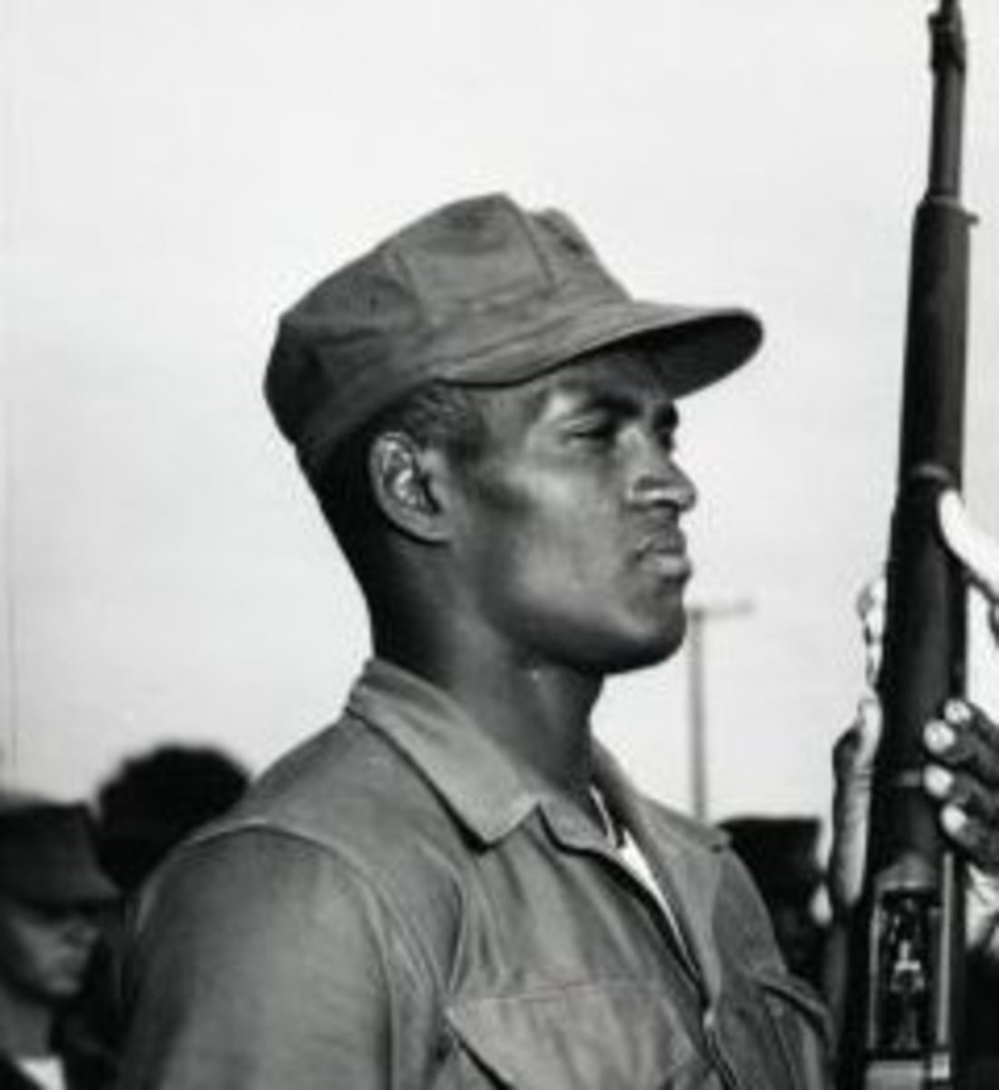 Roberto Clemente in the US Marine Corps.