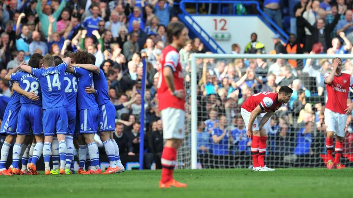 One of the worst visits to Stamford Bridge in Arsenal's history.