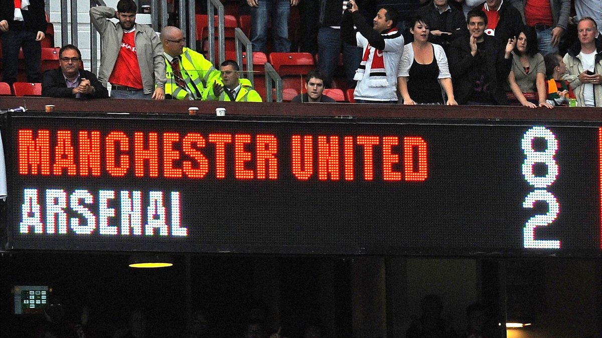 The scoreline reflected Arsenal's worst result since 1896.