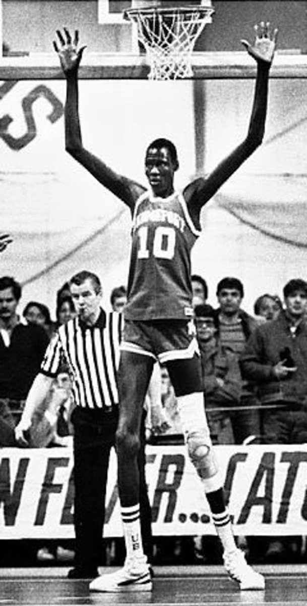 "Bol's wingspan measures a staggering 8'6"" which is unofficially the longest in the history of the NBA."