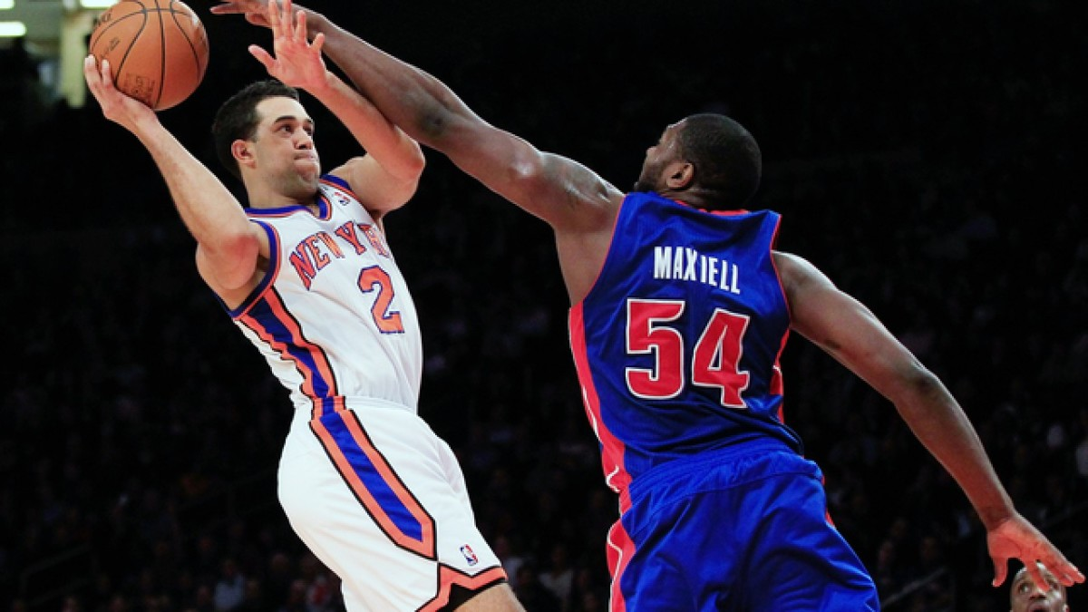 Jason Maxiell was selected by the Detroit Pistons with the 26th overall pick in the 2005 NBA draft.