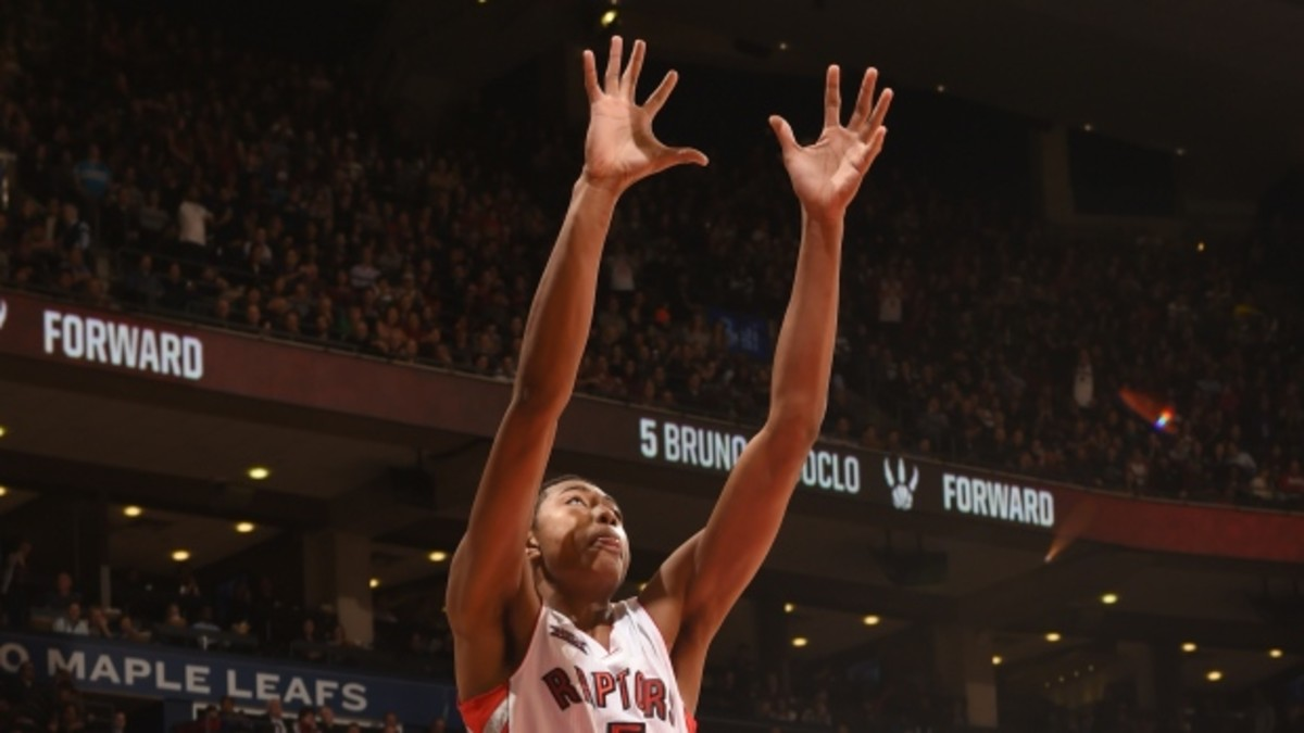 Bruno Caboclo was recently traded to the Rockets.