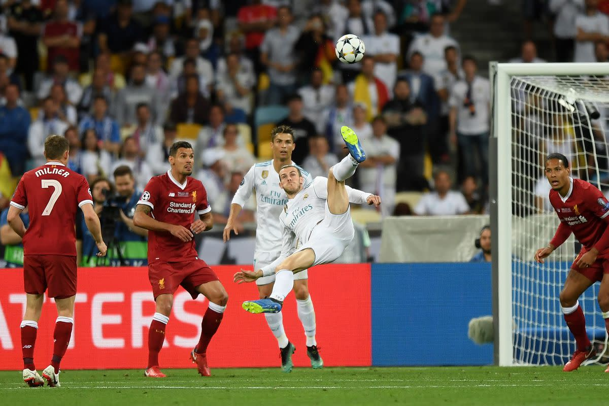 The moment of absolute magic. Best goal ever in a final?