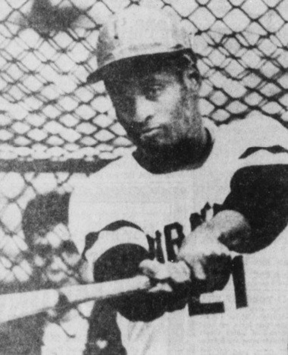 Roberto Clemente, seen with the Pittsburgh Pirates in a 1971 press photo, was the first major superstar of Latin descent, and also was among the first athletes to use his fame with humanitarian aid.