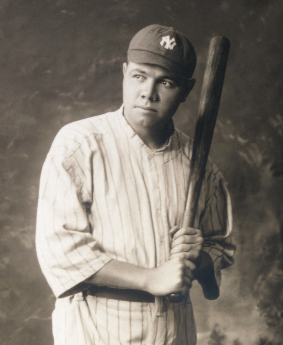 Babe Ruth was the first great home run hitter in Major League Baseball history. He is often credited with popularizing the game among Americans.
