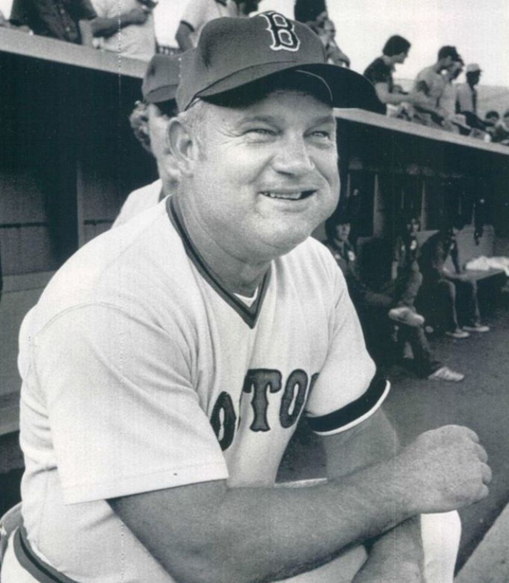 Third Base Coach Don Zimmer. He later became the Sox manager.