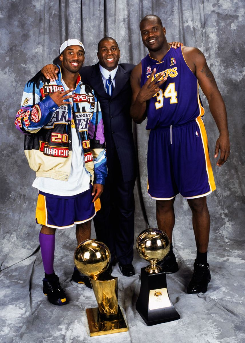 Shaq and Kobe brought back Showtime to the Los Angeles Lakers.