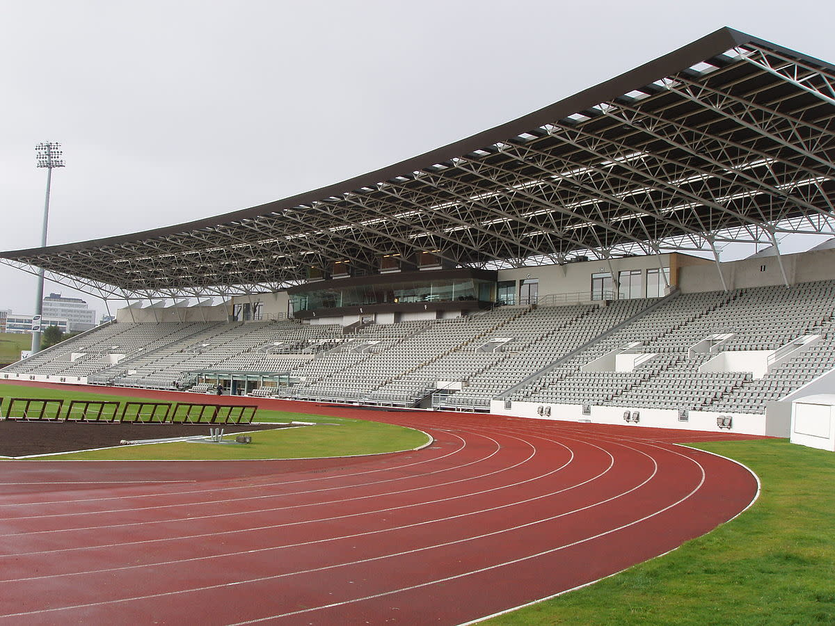 Located in the capital city Reykjavik, Laugardalsvöllur is the national stadium of Iceland's football team. It was a 2004 friendly that saw the largest attendance when Iceland upset Italy 2-0.