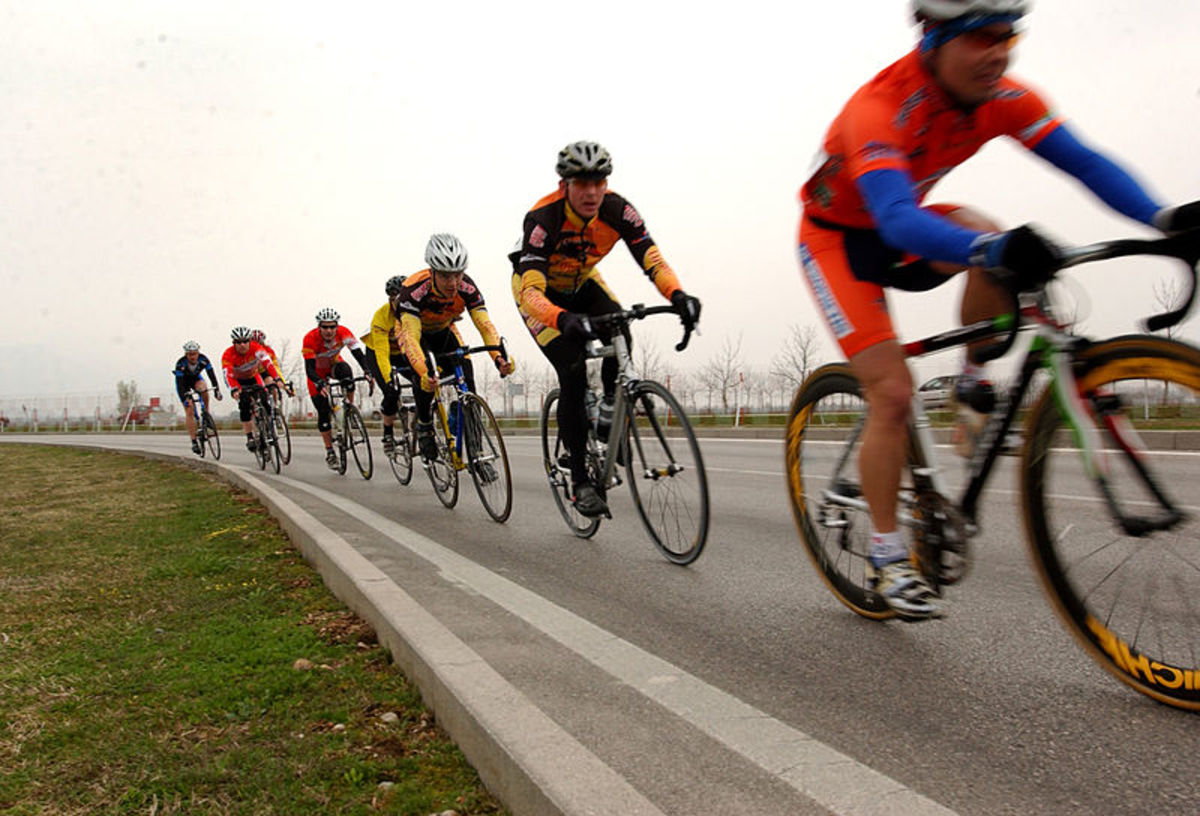 Competitive cycling is great sport for adults over 40.