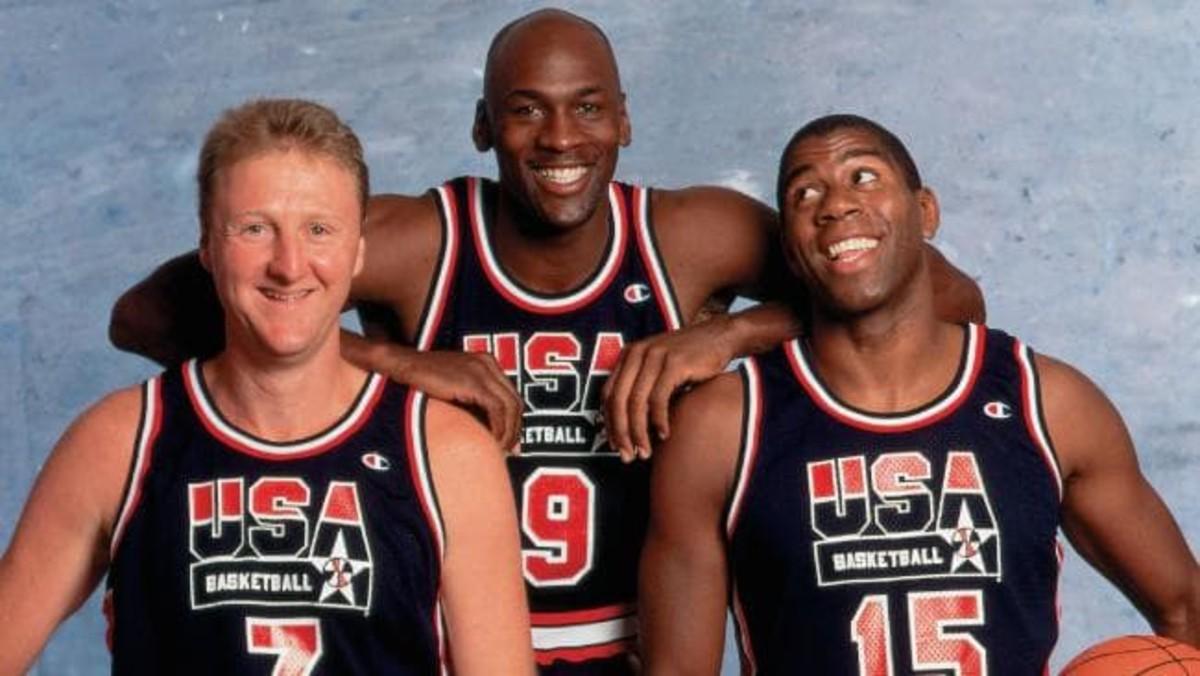 Michael Jordan was the centerpiece of the original Dream Team.