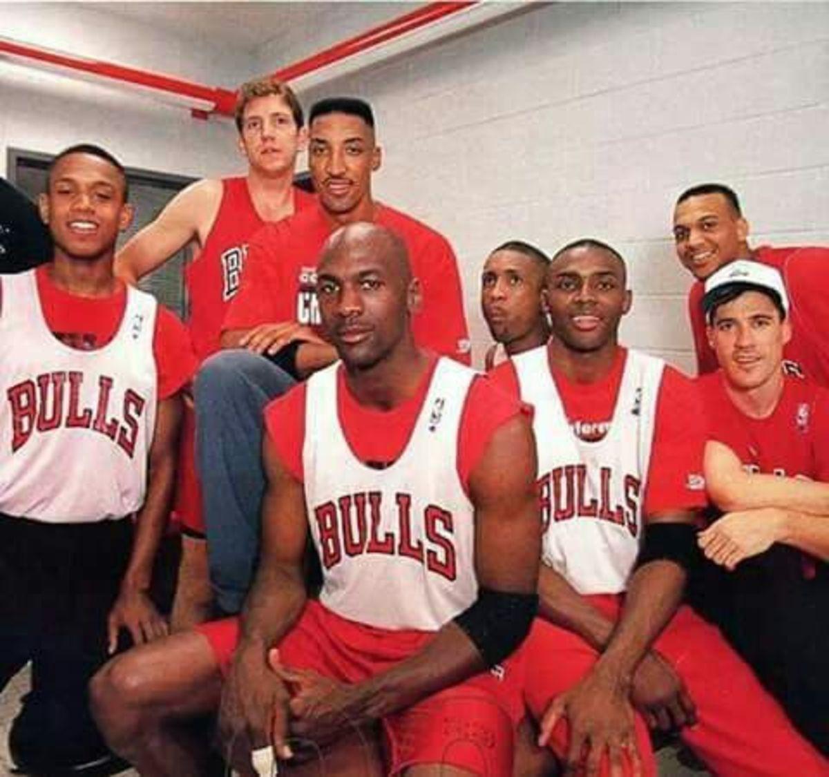 Michael Jordan 1993 teammates
