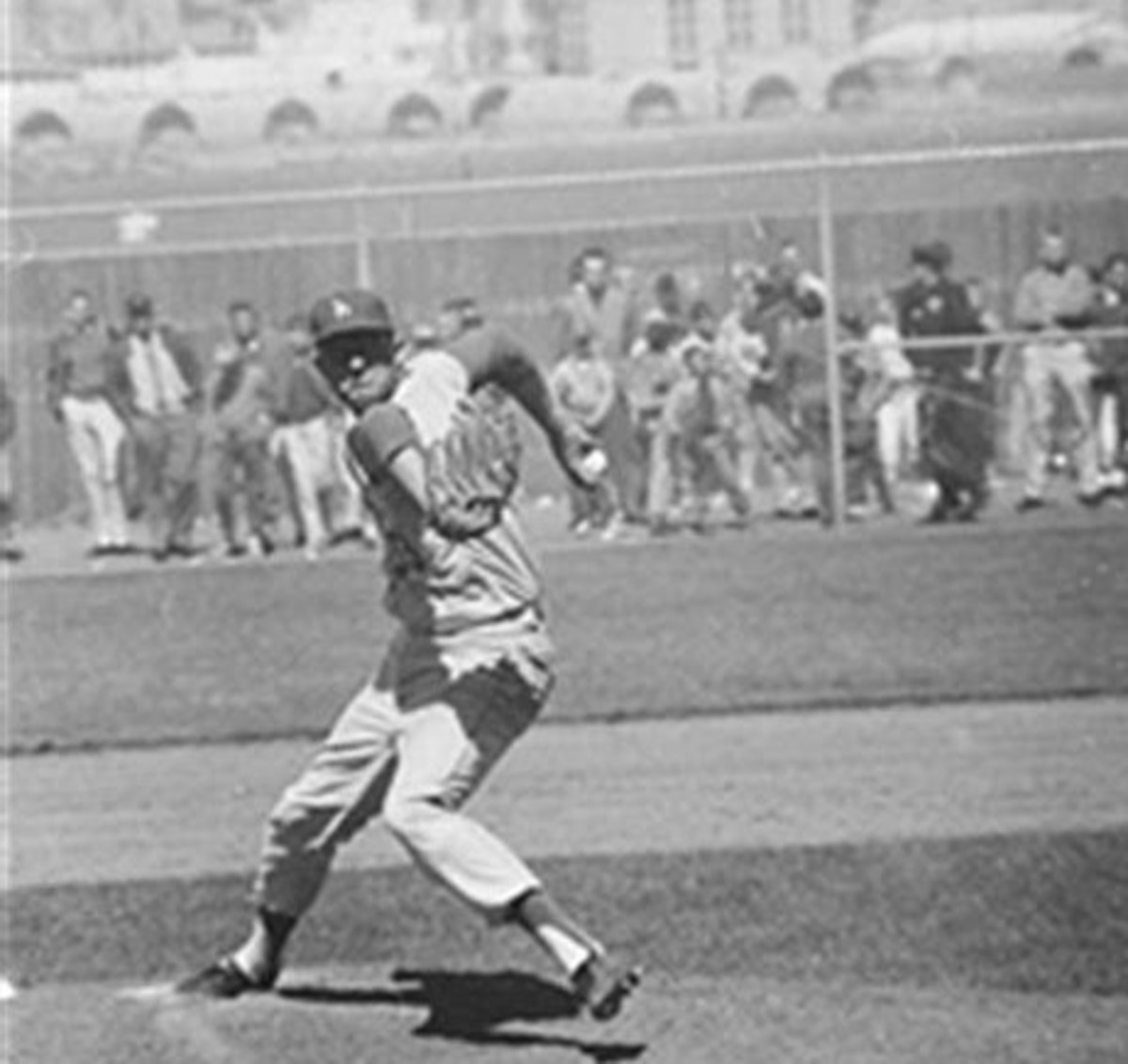 Don Drysdale at Candlestick earlier in the season.
