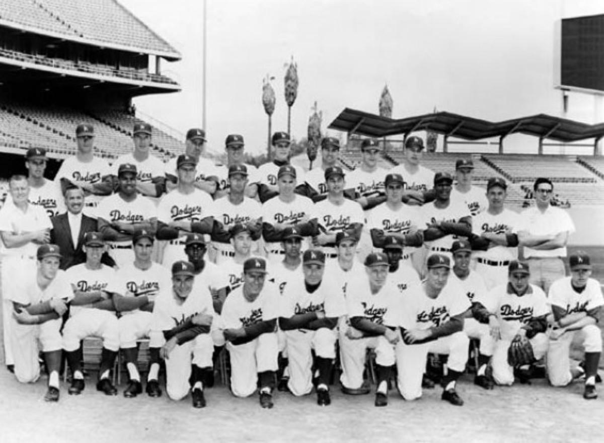 1962 L.A. Dodgers.