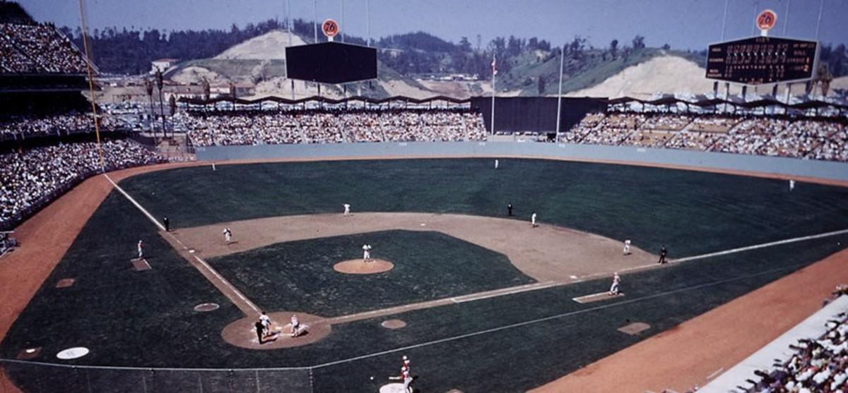 Dodger Stadium, Opening Day 1962.