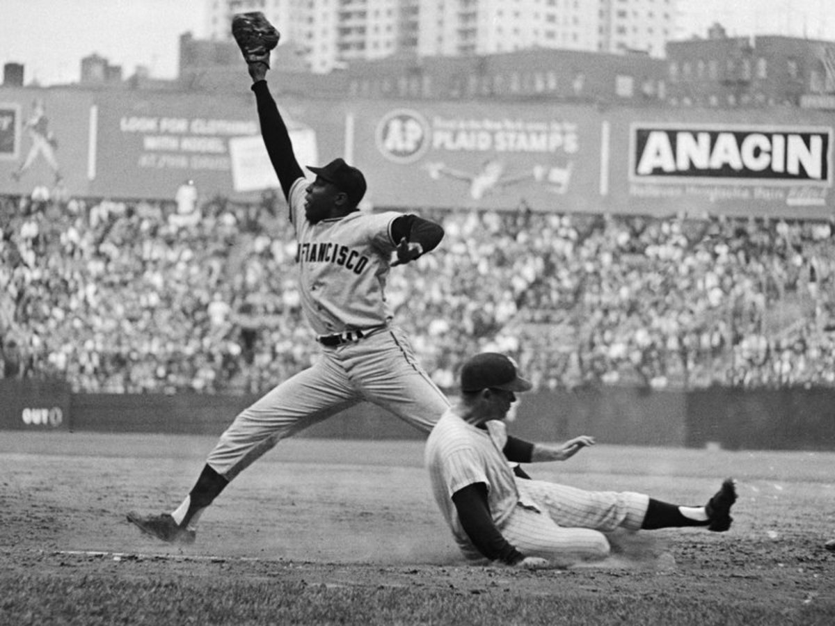 McCovey and Mantle during the Series