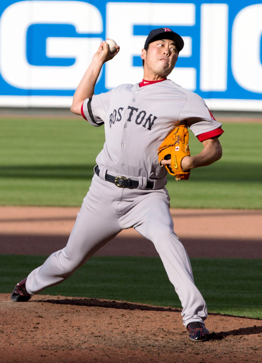 In the 2013 postseason, Koji Uehara tied the Major League record with seven saves.