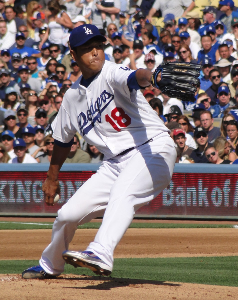 Hiroki Kuroda fired seven perfect innings against the Braves as a rookie in 2008, but finished with a one-hit shutout.