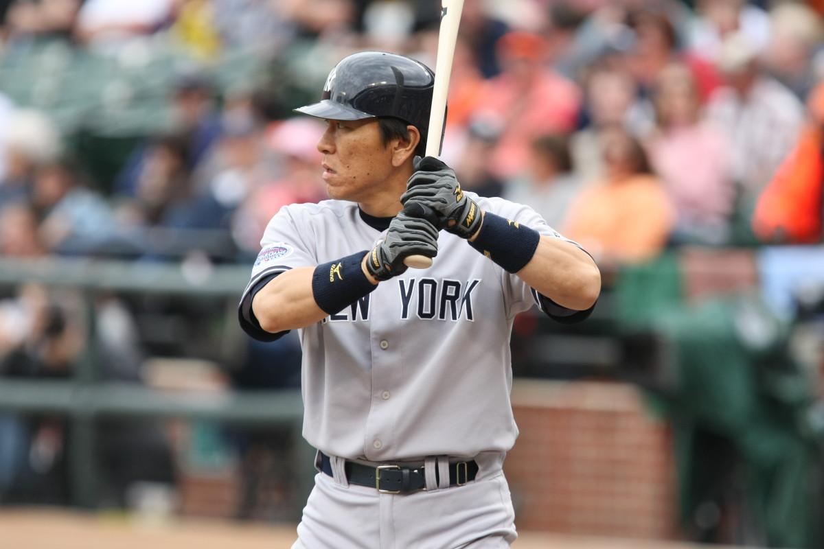 Hideki Matsui was the 2009 World Series MVP for the New York Yankees.
