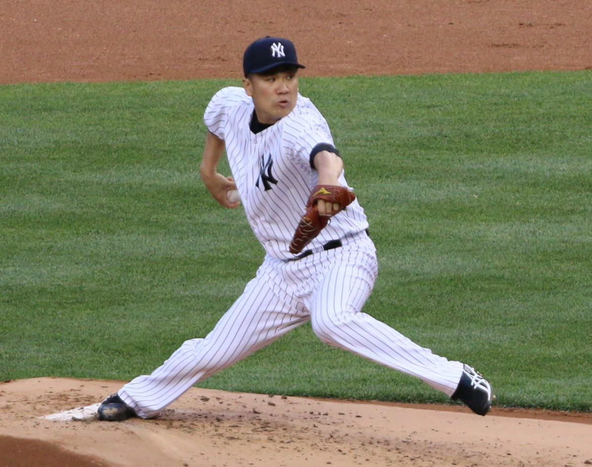 Masahiro Tanaka was the first Japanese-born pitcher to earn the win in the Major League All-Star Game.