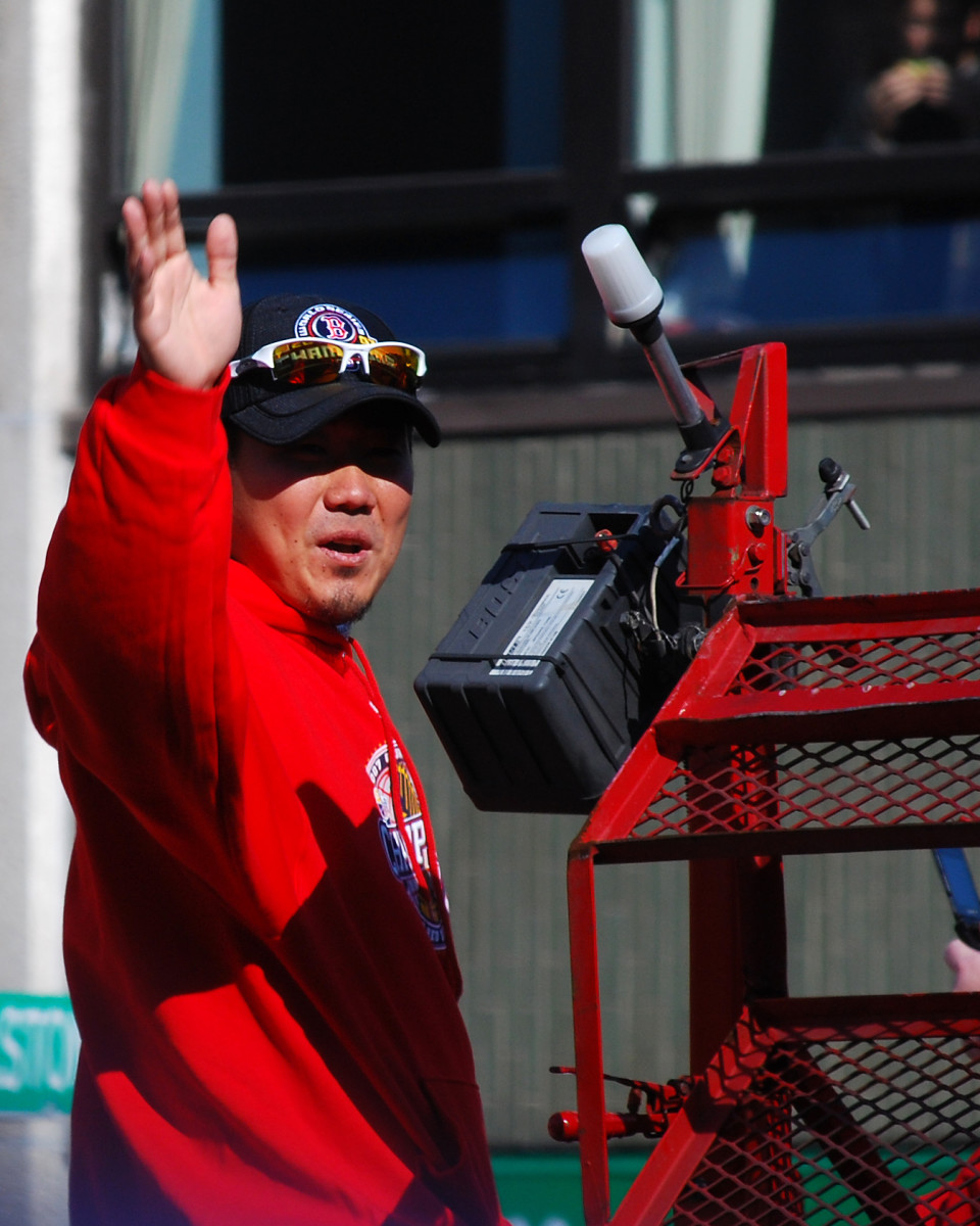 In 2007, Daisuke Matsuzaka became the first Japanese-born pitcher to start and win a game in the World Series.