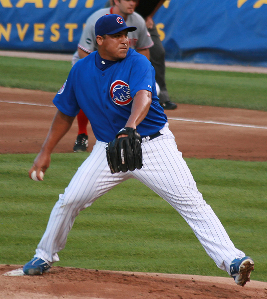 Carlos Zambrano belted 24 homers in his career.