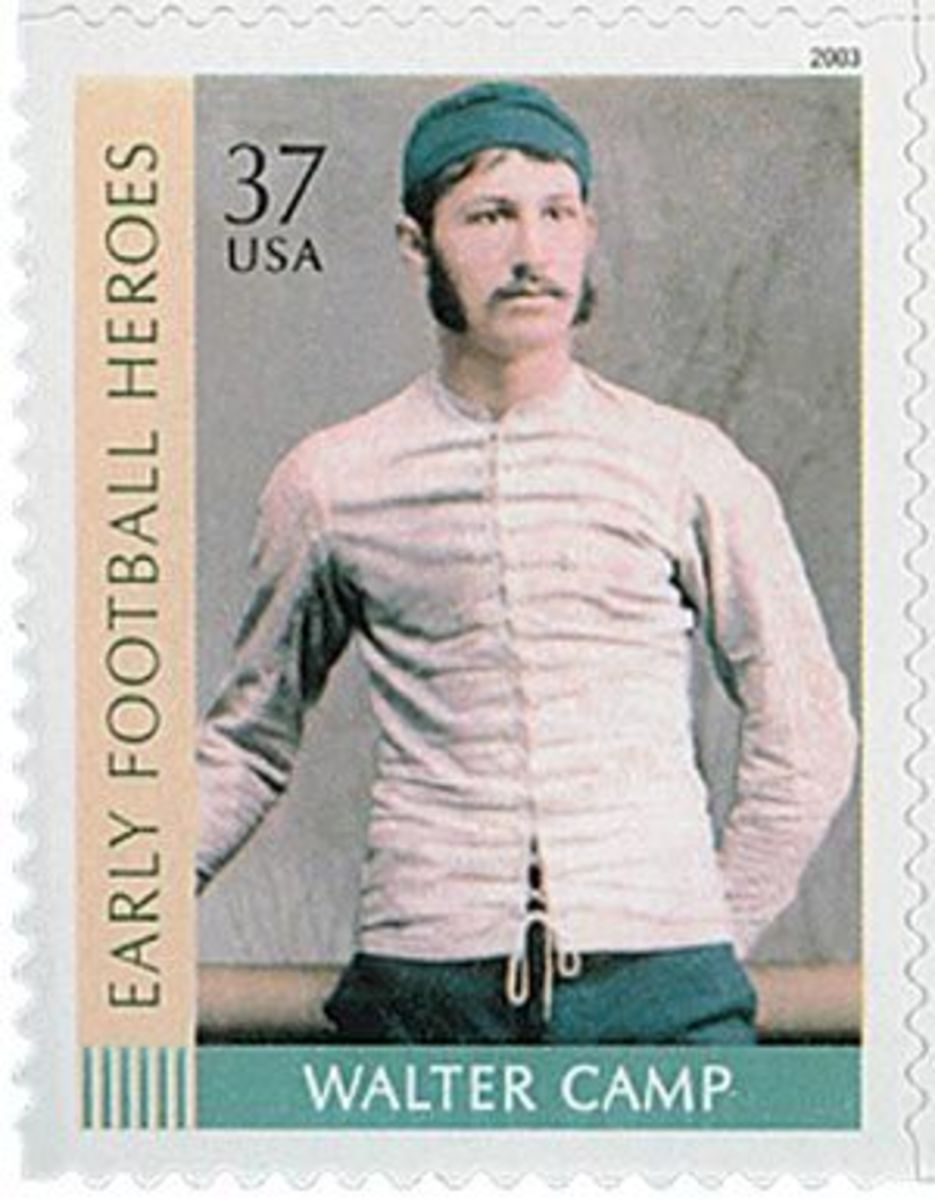 Walter Camp postage stamp